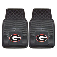 NCAA - University of Georgia 2-pc Vinyl Car Mat Set