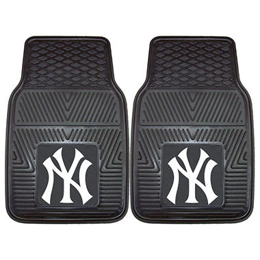 MLB - New York Yankees 2-pc Vinyl Car Mat Set