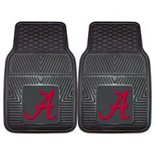 NCAA - University of Alabama 2-pc Vinyl Car Mat Set