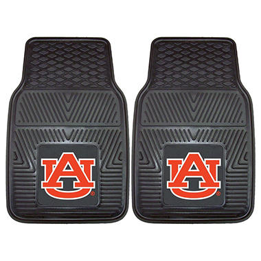 NCAA - Auburn University 2-pc Vinyl Car Mat Set