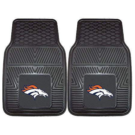 NFL - Denver Broncos 2-pc Vinyl Car Mat Set