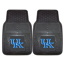 NCAA - University of Kentucky 2-pc Vinyl Car Mat Set