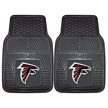 NFL - Atlanta Falcons 2-pc Vinyl Car Mat Set