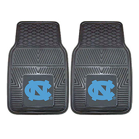 NCAA - University of North Carolina - Chapel Hill 2-pc Vinyl Car Mat Set