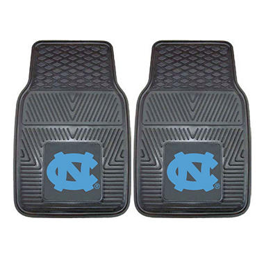 NCAA - University of North Carolina - Chapel Hill 2-pc Vinyl Car Mat Set