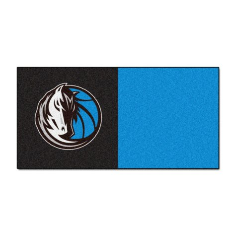 NBA - Dallas Mavericks Team Carpet Tiles