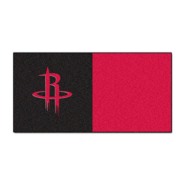 NBA - Houston Rockets Team Carpet Tiles
