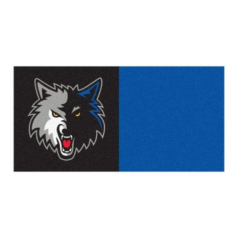 NBA - Minnesota Timberwolves Team Carpet Tiles