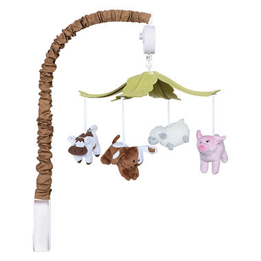 Trend Lab Musical Mobile - Baby Barnyard