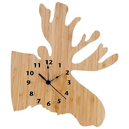 Trend Lab Northwoods Wall Clock (Choose Moose or Bear)