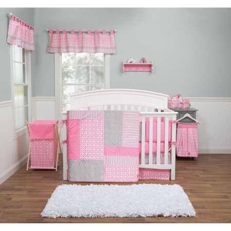 Trend Lab 3-Piece Crib Bedding Set, Lily