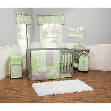 Trend Lab 3-Piece Crib Bedding Set, Lauren