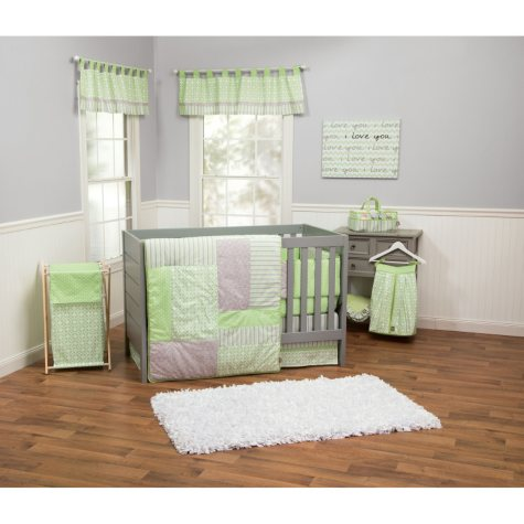 Trend Lab 3-Piece Crib Bedding Set, Lauren