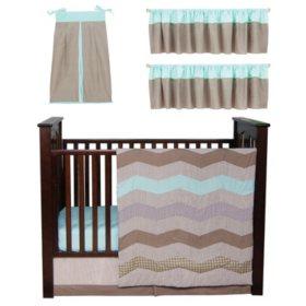 Trend Lab Baby Crib Bedding Set 6 Pc