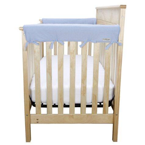 Trend Lab Cribwrap Medium Rail Covers, Set of 2 (Choose Your Color)