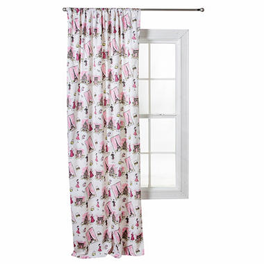 Waverly Tres Chic Window Drape, Scatter Print