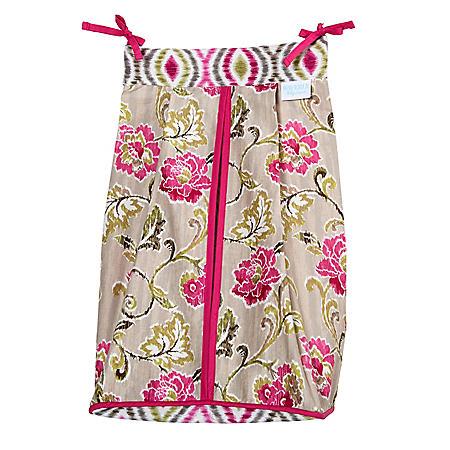 Waverly Jazz Diaper Stacker, Jazzberry Floral
