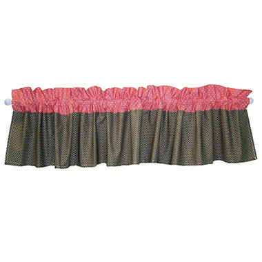 Trend Lab Window Valance, Cocoa Coral
