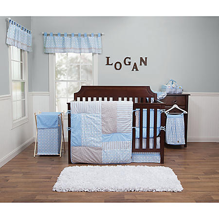 Trend Lab 3-Piece Crib Bedding Set, Logan