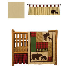 Trend Lab Baby Crib Bedding Set, 5 pc. - Northwoods