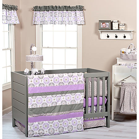 Trend Lab 3-Piece Crib Bedding Set, Florence
