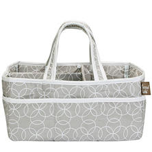 Trend Lab Storage Caddy, Circles Gray