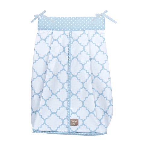 Trend Lab Diaper Stacker, Blue Sky