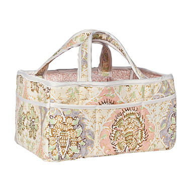Waverly Rosewater Glam Diaper Caddy, Kings Turban