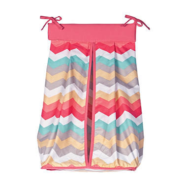 Waverly Pom Pom Play Diaper Stacker, Panama Wave