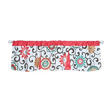 Waverly Pom Pom Play Window Valance, Floral