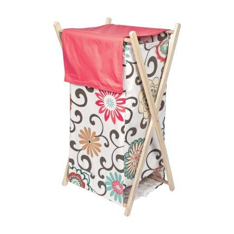 Waverly Pom Pom Play Hamper Set, Floral
