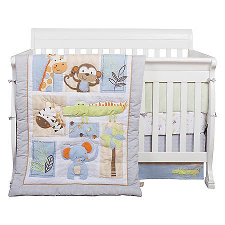 Trend Lab 6 Piece Crib Bedding Set Jungle Fun Sam S Club