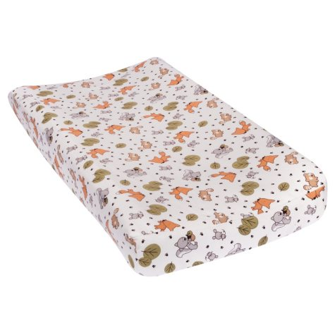 Trend Lab Flannel Changing Pad Cover, Friendly Forest