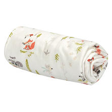 Trend Lab Flannel Swaddle Blanket, Winter Woods