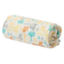 Trend Lab Flannel Swaddle Blanket, Lullaby Zoo