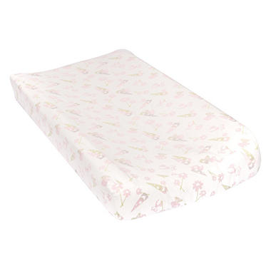 Trend Lab Flannel Changing Pad Cover, Garden Gnomes