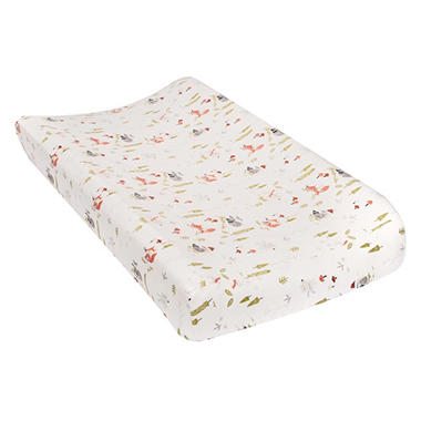 Trend Lab Flannel Changing Pad Cover, Winter Woods