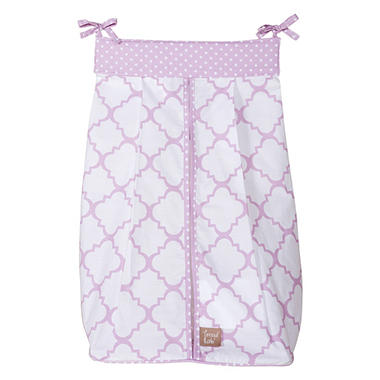Trend Lab Diaper Stacker, Orchid Bloom