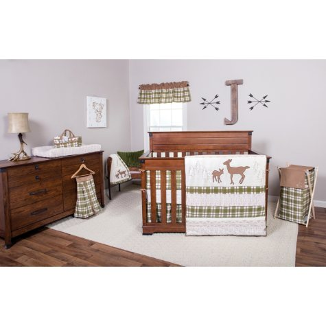 Trend Lab 3-Piece Crib Bedding Set, Deer Lodge