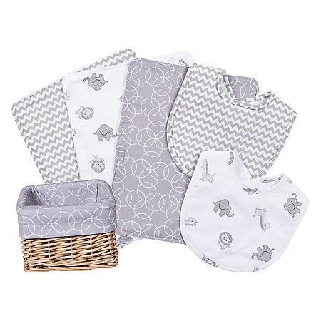 Trend Lab 7-Pc. Feeding Basket Gift Set (Choose your Color)