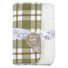 Trend Lab Faux Shearing Blanket, Deer Lodge