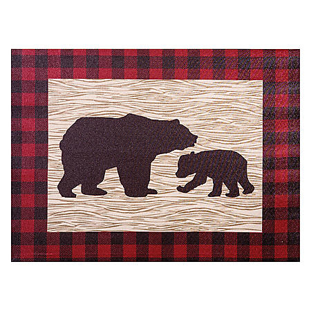 Trend Lab Canvas Wall Art, Northwoods Bear