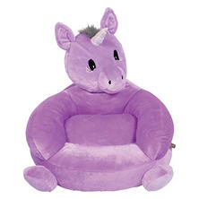 Trend Lab Children's Plush Character Chair, Unicorn