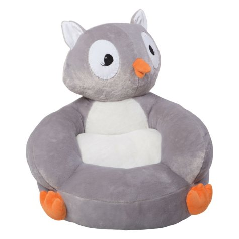 Trend Lab Children's Plush Character Chair, Owl