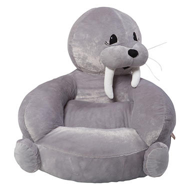 Trend Lab Children's Plush Character Chair, Walrus