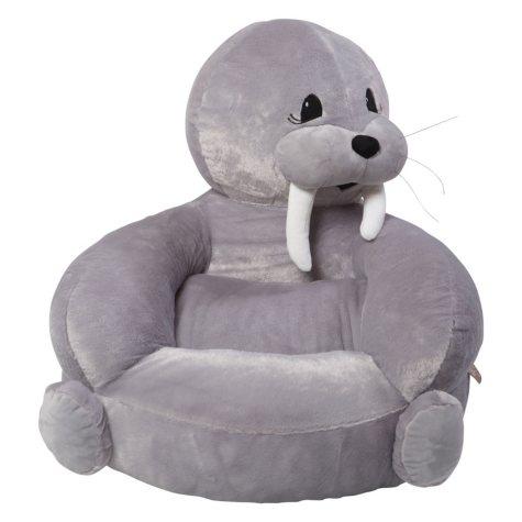Trend Lab Children's Plush Character Chair, Walrus