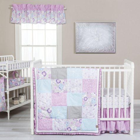 Trend Lab 5-Piece Crib Bedding Set, Grace