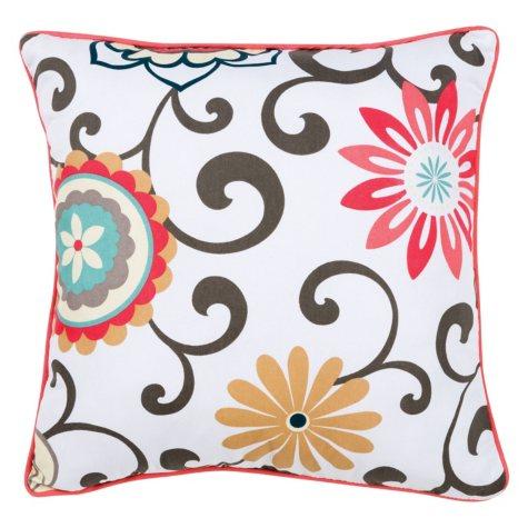 Waverly Baby by Trend Lab Decorative Pillow, Pom Pom Play