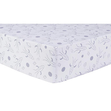Trend Lab Fitted Crib Sheet, Galaxy