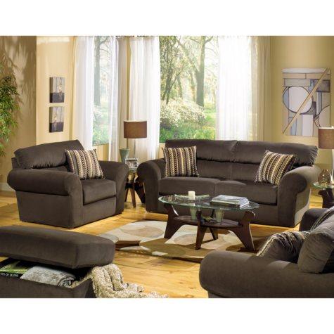 Quest Haley Living Room Set - 6 pc..